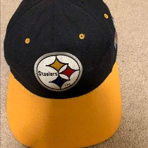 Steelers Fitted Wool Ball Cap